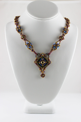 Gilded Frames Necklace | Designs