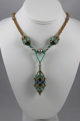 Moroccan Lantern Necklace   Designs