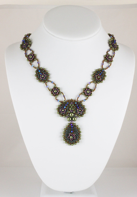 Cascading Petals Necklace |  Kits