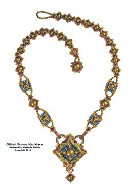 Gilded Frames Necklace