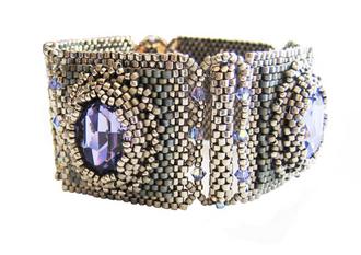 Silver Reflective Nature Bracelet