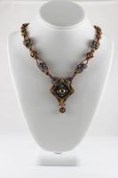 Image Gilded Frame Necklace