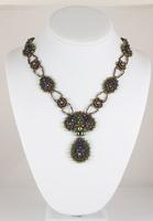 Image Cascading Petals Necklace